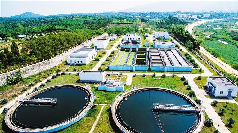 海安县城北凌河污水处理厂